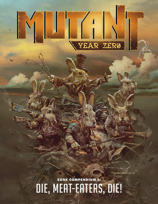 Mutant: Year Zero Zone Compendium 3: Die, Meat-Eater, Die! - Modiphius Entertainment