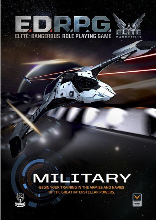 Elite Dangerous RPG - Military Sourcebook - Modiphius Entertainment
