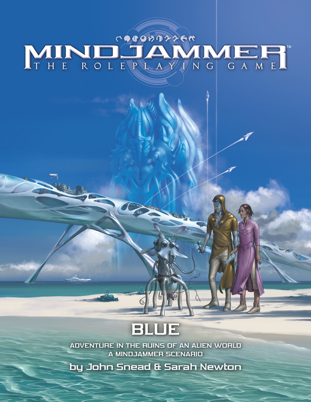Blue Adventure in the Ruins of an Alien World: Mindjammer RPG  -  Modiphius Entertainment