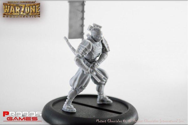 Mutant Chronicles Miniatures: Mishima set