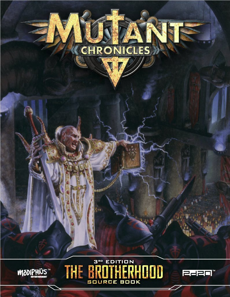 Brotherhood Source Book: Mutant Chronicles -  Modiphius Entertainment
