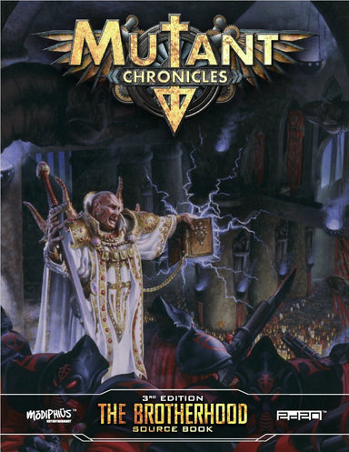 Mutant Chronicles: Brotherhood source book - Modiphius Entertainment