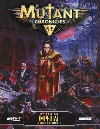 Mutant Chronicles: Imperial Sourcebook - Modiphius Entertainment