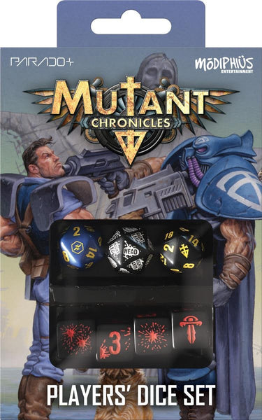 Mutant Chronicles Q-Workshop Player's Dice Set