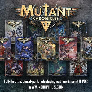 Mutant Chronicles Print Lovers Bundle 2 - Modiphius Entertainment