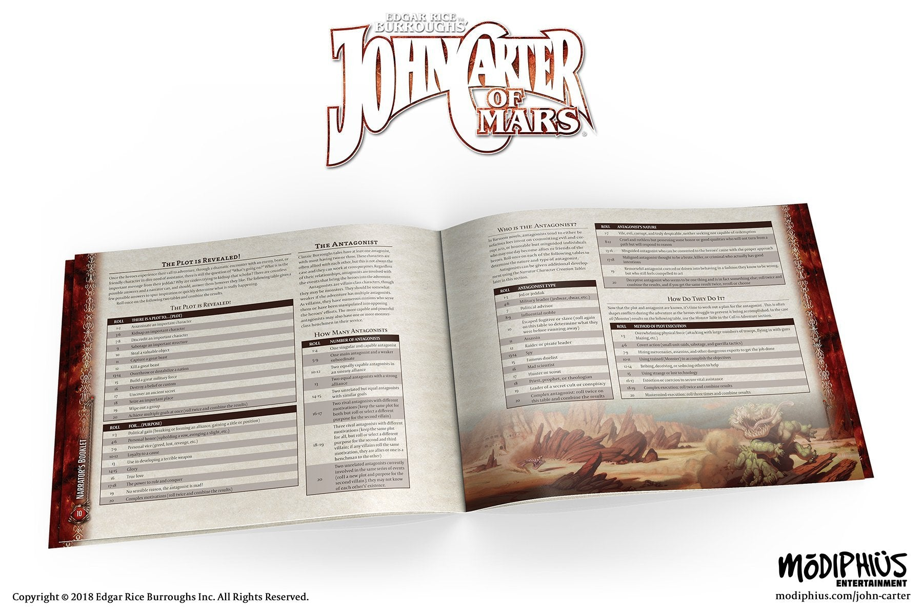 John Carter of Mars: Narrator's Toolkit - PDF