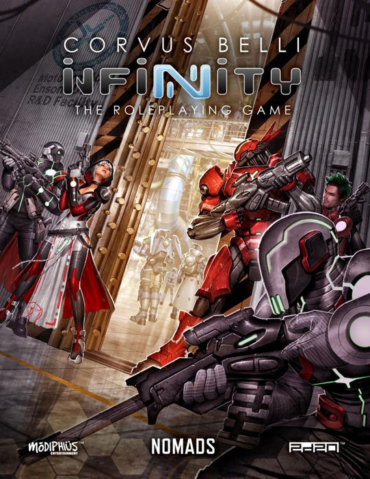 Infinity: Nomads Supplement - PDF - Modiphius Entertainment