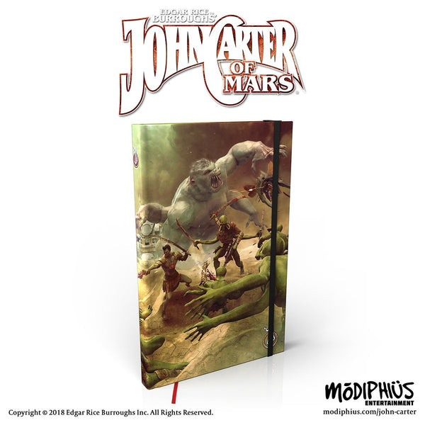 John Carter of Mars: Prince of Helium Notebook - Modiphius Entertainment
