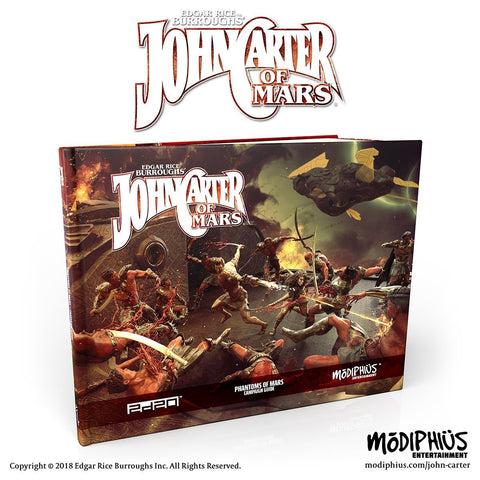 John Carter of Mars: Phantoms of Mars Campaign Book - Modiphius Entertainment