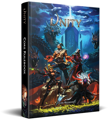 Unity Core Rulebook - Modiphius Entertainment