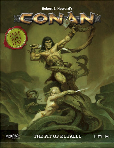 Conan: Free RPG Day 2017: The Pit of Kutallu - PDF - Modiphius Entertainment