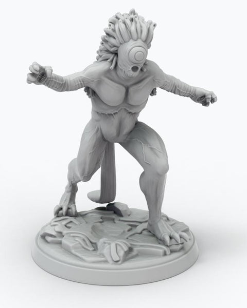 John Carter Miniatures: Plant Man Mob