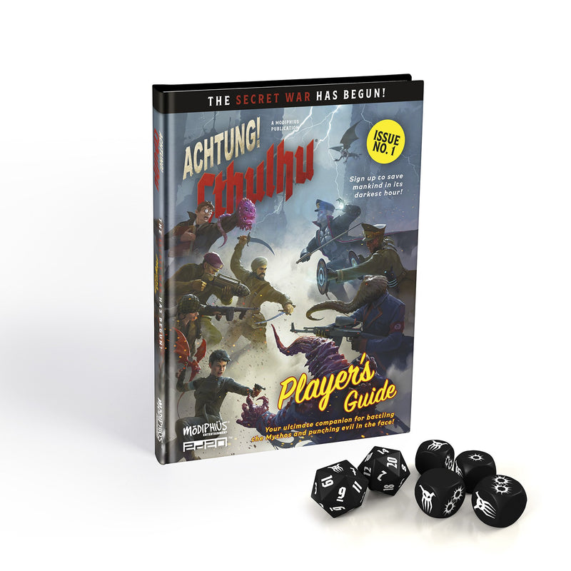 Achtung! Cthulhu 2d20: Player's Bundle