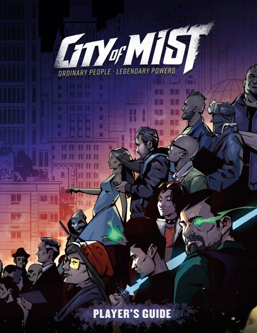 Player Guide: City of Mist RPG -  Modiphius