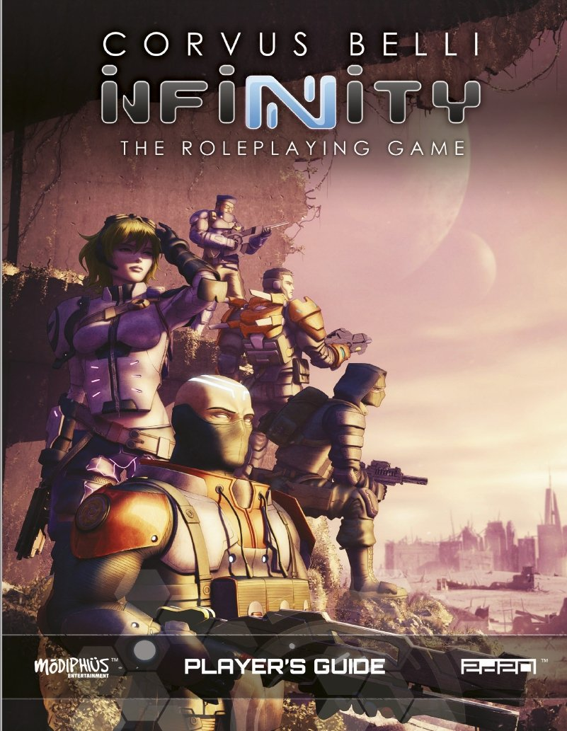 Infinity RPG Players Guide   (T.O.S.) -  Modiphius Entertainment