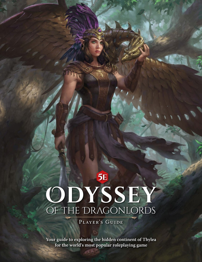 Odyssey of the Dragonlords: Softcover Player's Guide - Modiphius Entertainment