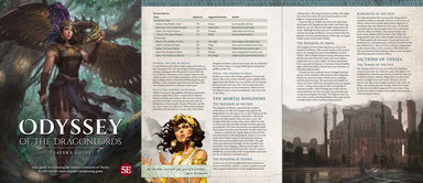 Odyssey of the Dragonlords: Player's Guide - PDF (FREE)