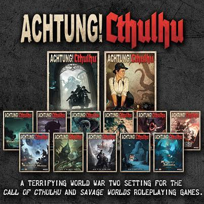 Achtung! Cthulhu Print Essentials Bundle