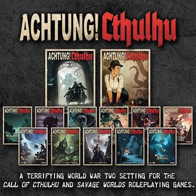 Achtung! Cthulhu PDF Lovers Bundle - Modiphius Entertainment