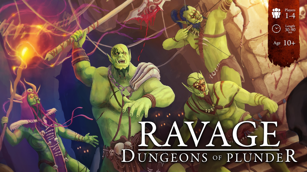Ravage - Dungeons of Plunder - Modiphius Entertainment
