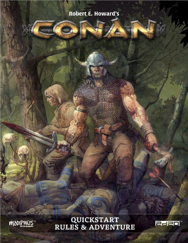 Conan: Conan Quickstart Adventure - PDF - Modiphius Entertainment