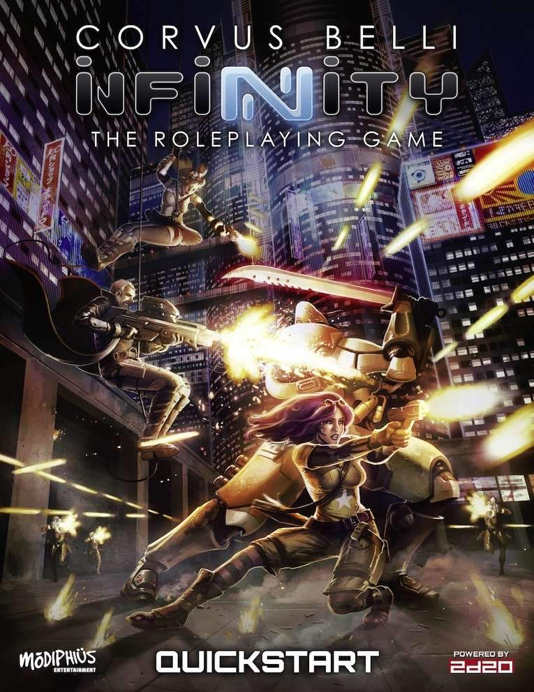 [JDR] Infinity rpg Quickstart_Cover