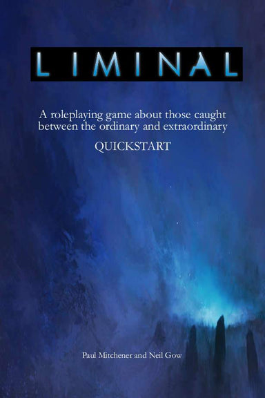 Liminal Quickstart - PDF - Modiphius Entertainment
