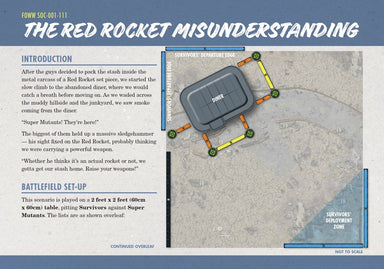 THE RED ROCKET MISUNDERSTANDING - AI Mode Preview Exclusive Download (FREE) - Modiphius Entertainment