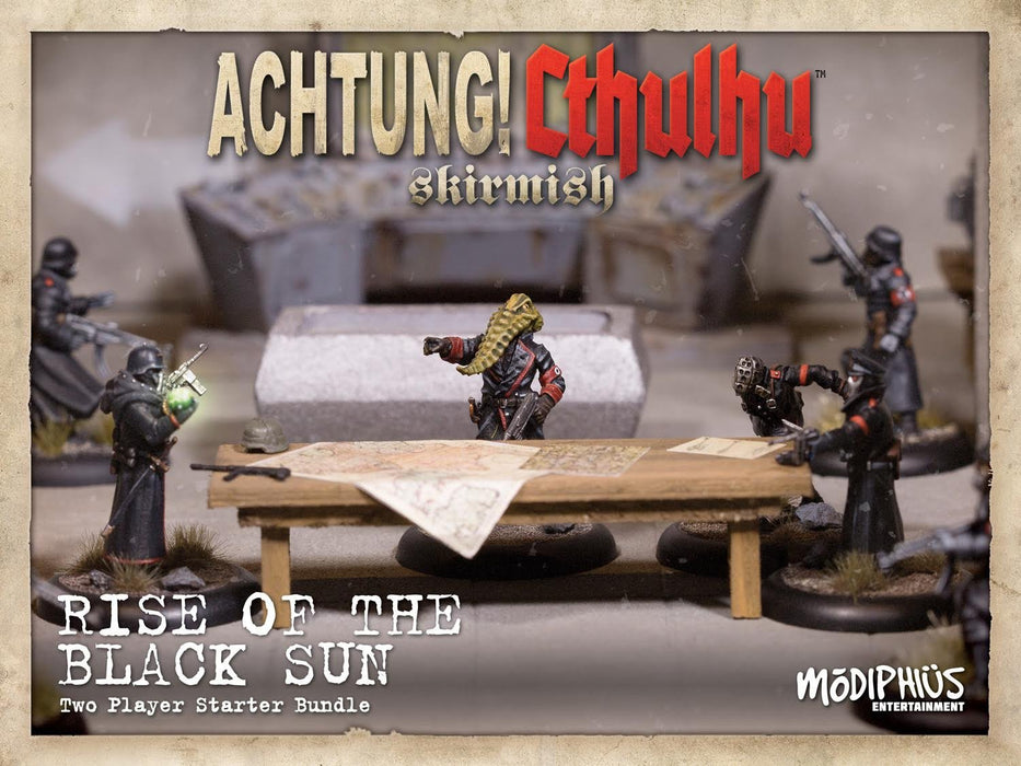 FREE Achtung! Cthulhu Skirmish Catalogue and Tales of the Crucible - Modiphius Entertainment