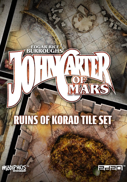 John Carter of Mars: Ruins of Korad Tile Set - PDF