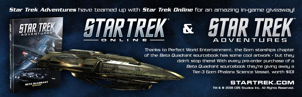 Star Trek Online: FREE Gorn Phalanx Ship - worth $10