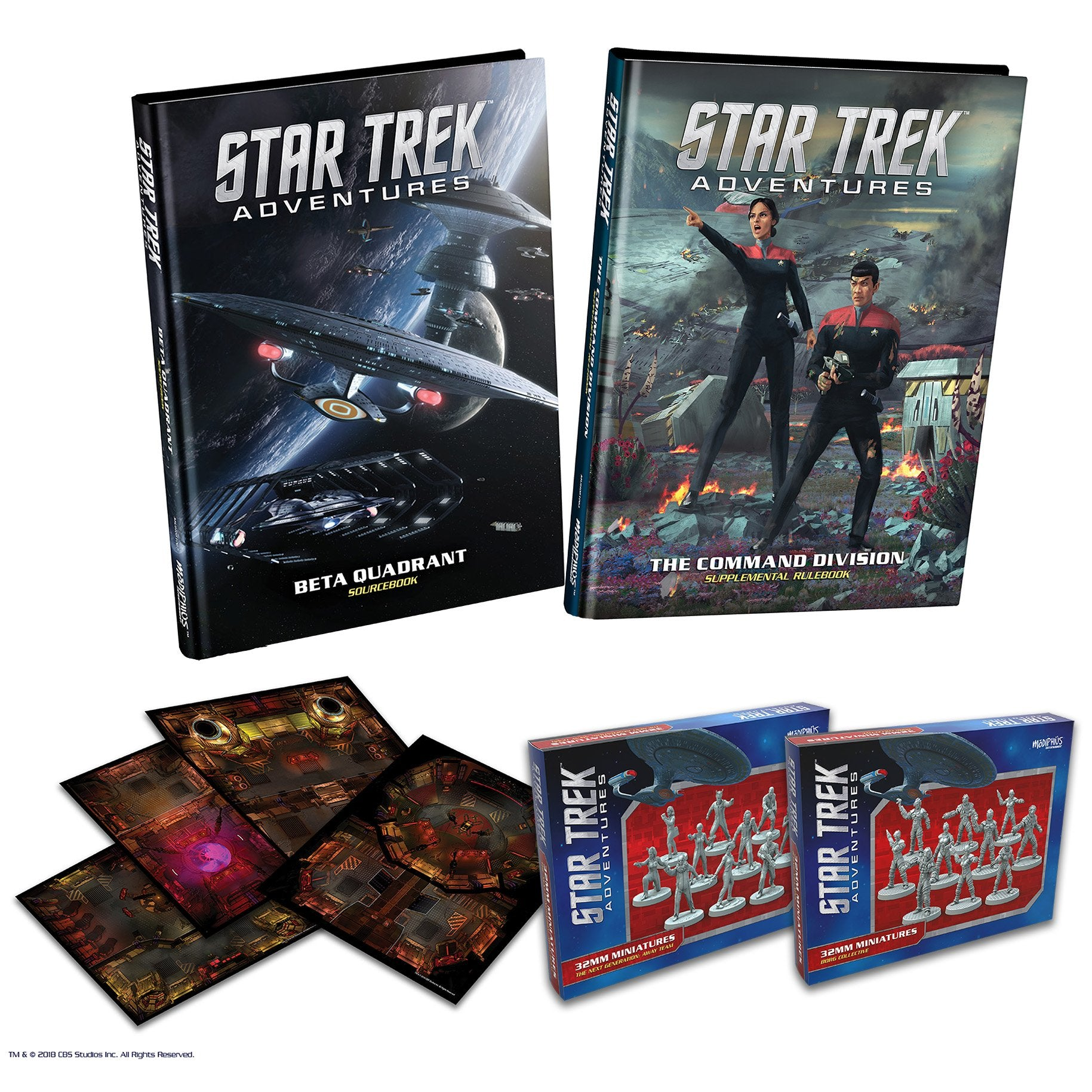 Star Trek Adventures: Wave 2 Complete Bundle