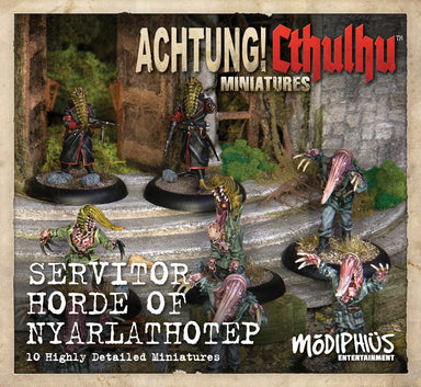 Achtung! Cthulhu Skirmish: Servitors of Nyarlathotep unit pack - Modiphius Entertainment