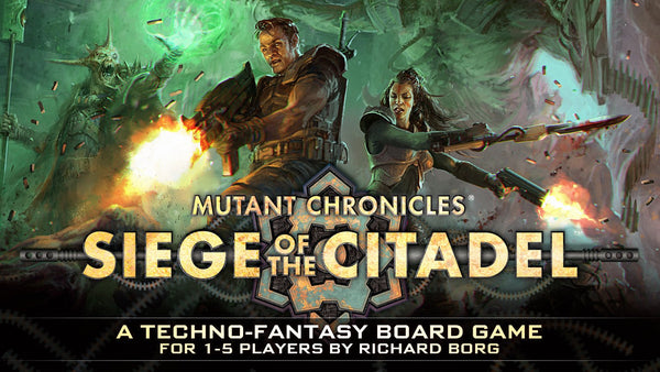 Siege of the Citadel Kickstarter - £55 pledge - Doomtrooper Pledge