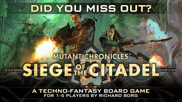 Siege of the Citadel - £5 - Pledge Manager Buy-in