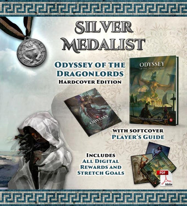 Odyssey of the Dragonlords: Silver Medallist Pledge - Modiphius Entertainment