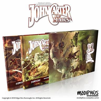 John Carter of Mars: Ultimate Bundle - Modiphius Entertainment