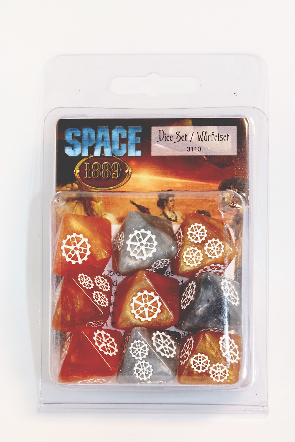Space 1889 Ubiquity Dice Set