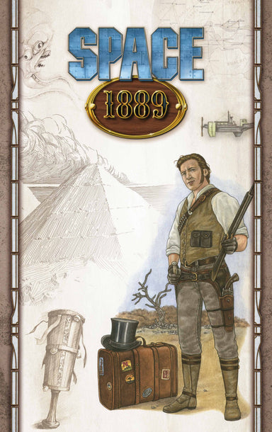 Space 1889 Game Master's Screen - PDF