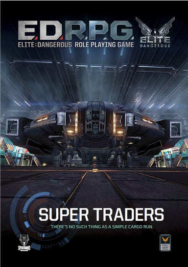 Elite Dangerous RPG - Super Traders Sourcebook - Modiphius Entertainment