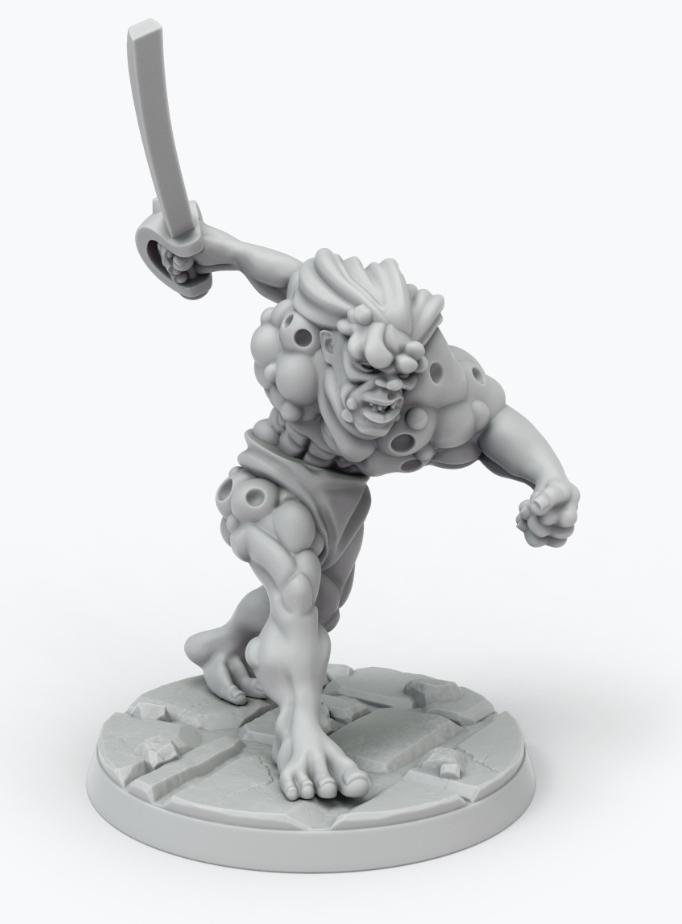 John Carter Miniatures: Synthetic Man Mob