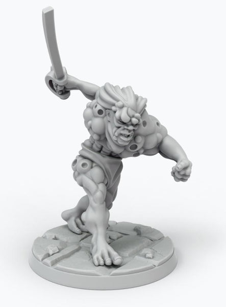 John Carter Miniatures: Synthetic Man Miniature 2 (ALTERNATE POSE)