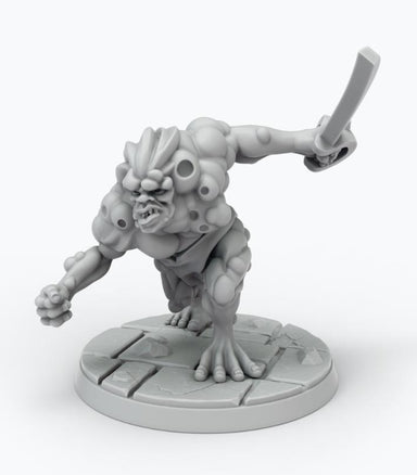 John Carter Miniatures: Synthetic Man Miniature 3 (ALTERNATE POSE) - Modiphius Entertainment