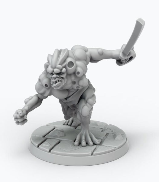 John Carter Miniatures: Synthetic Man Miniature 3 (ALTERNATE POSE)