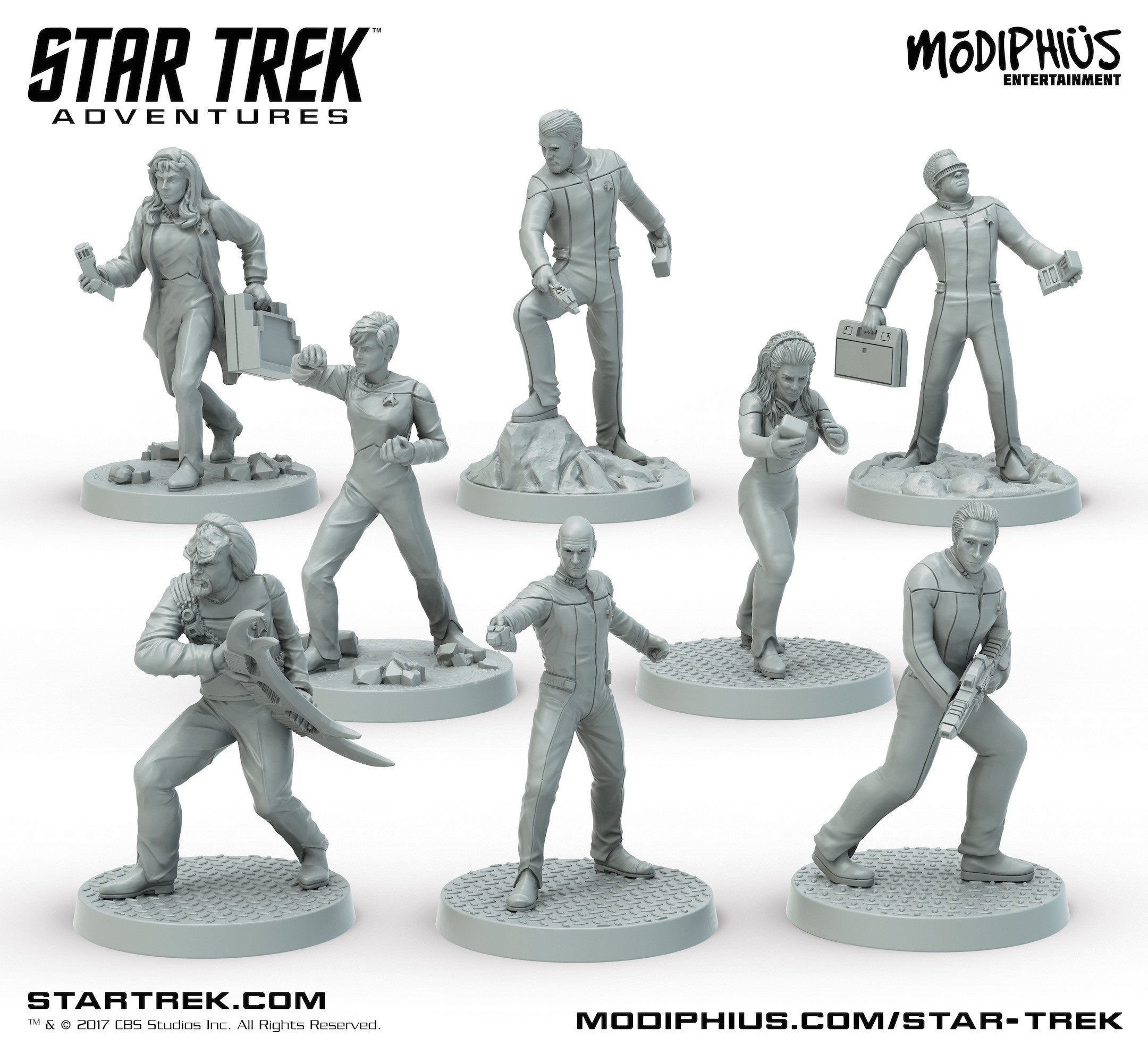 Star Trek Adventures: Wave 1 Miniatures Bundle