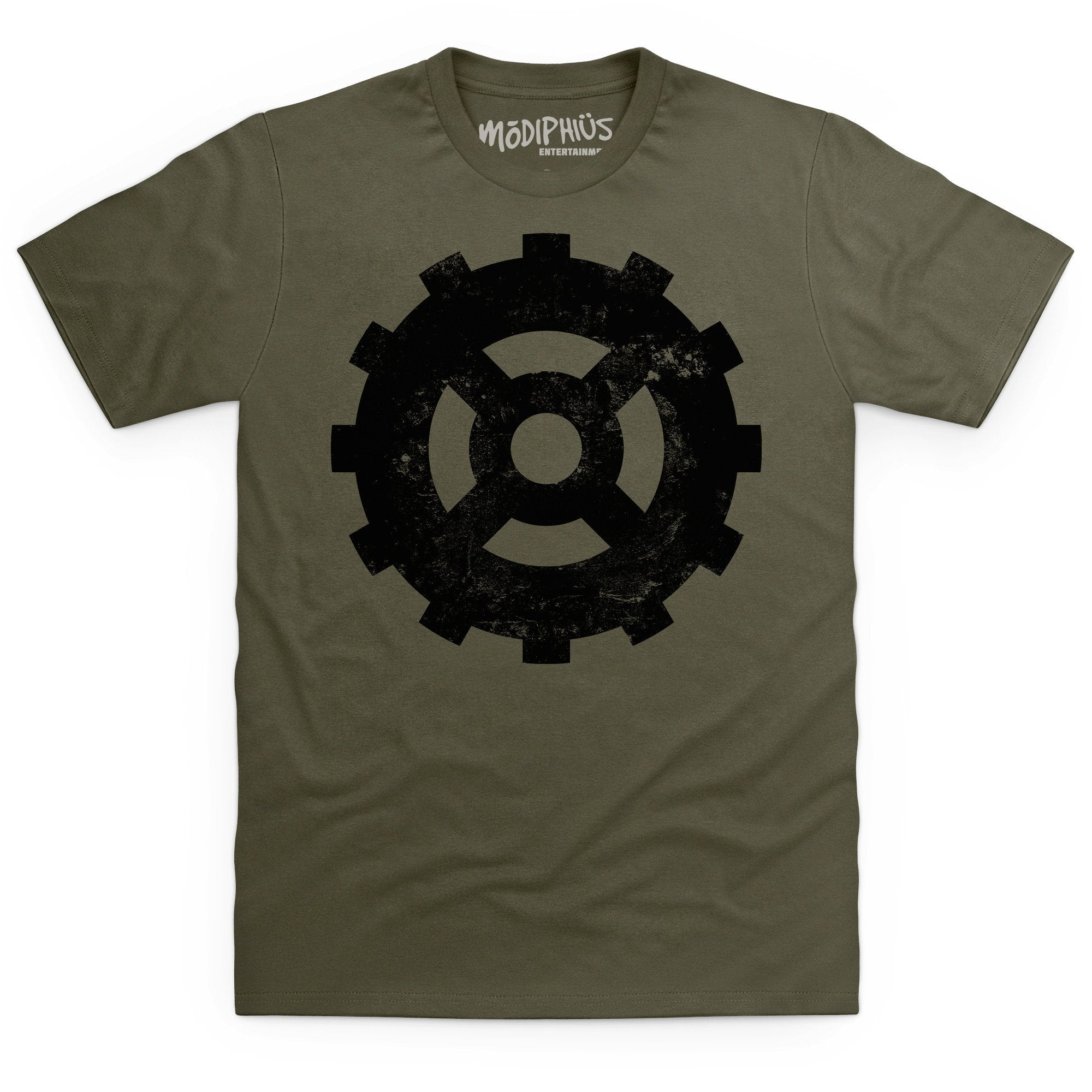 Mutant Chronicles: Bauhaus distressed t-shirt