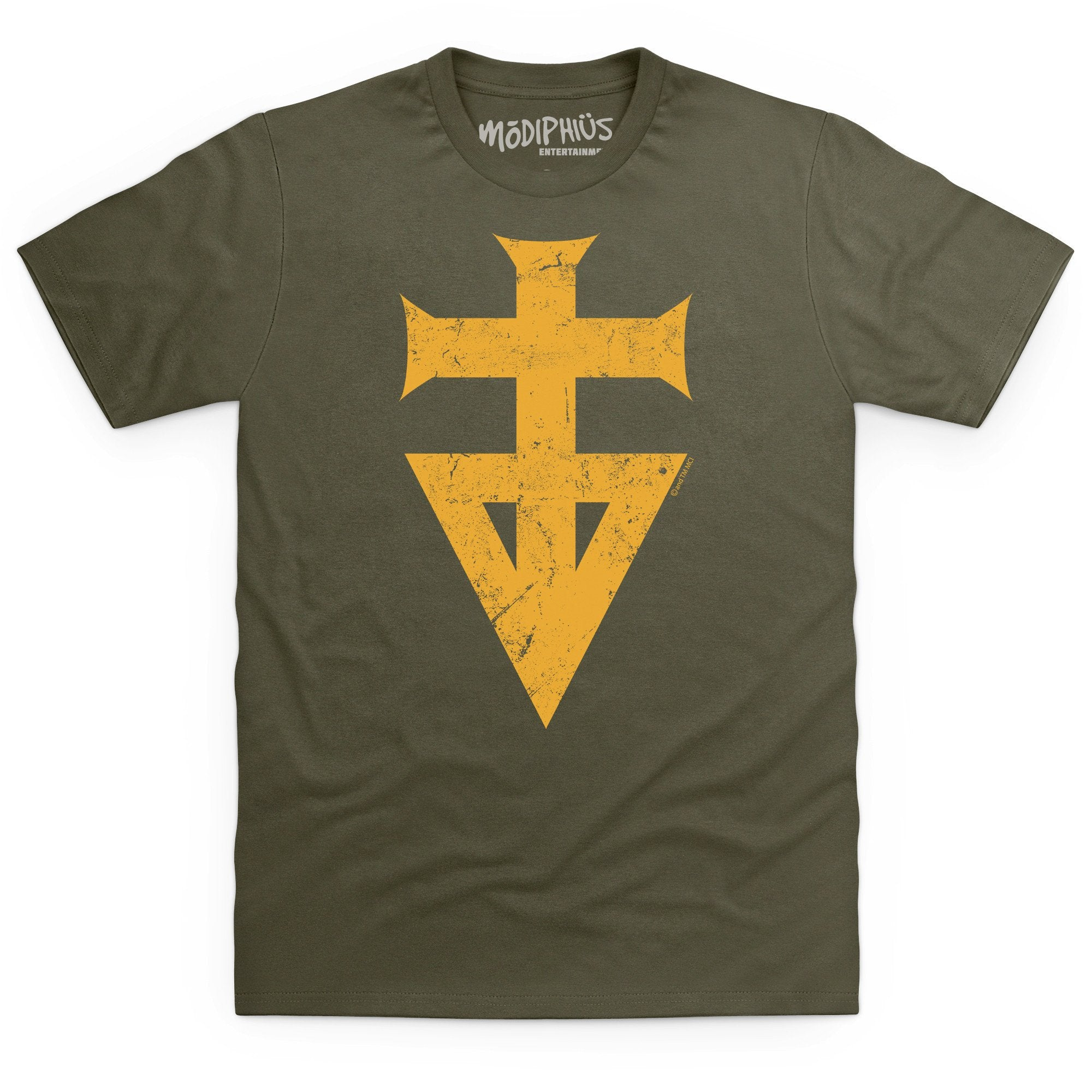 Mutant Chronicles: Brotherhood distressed t-shirt