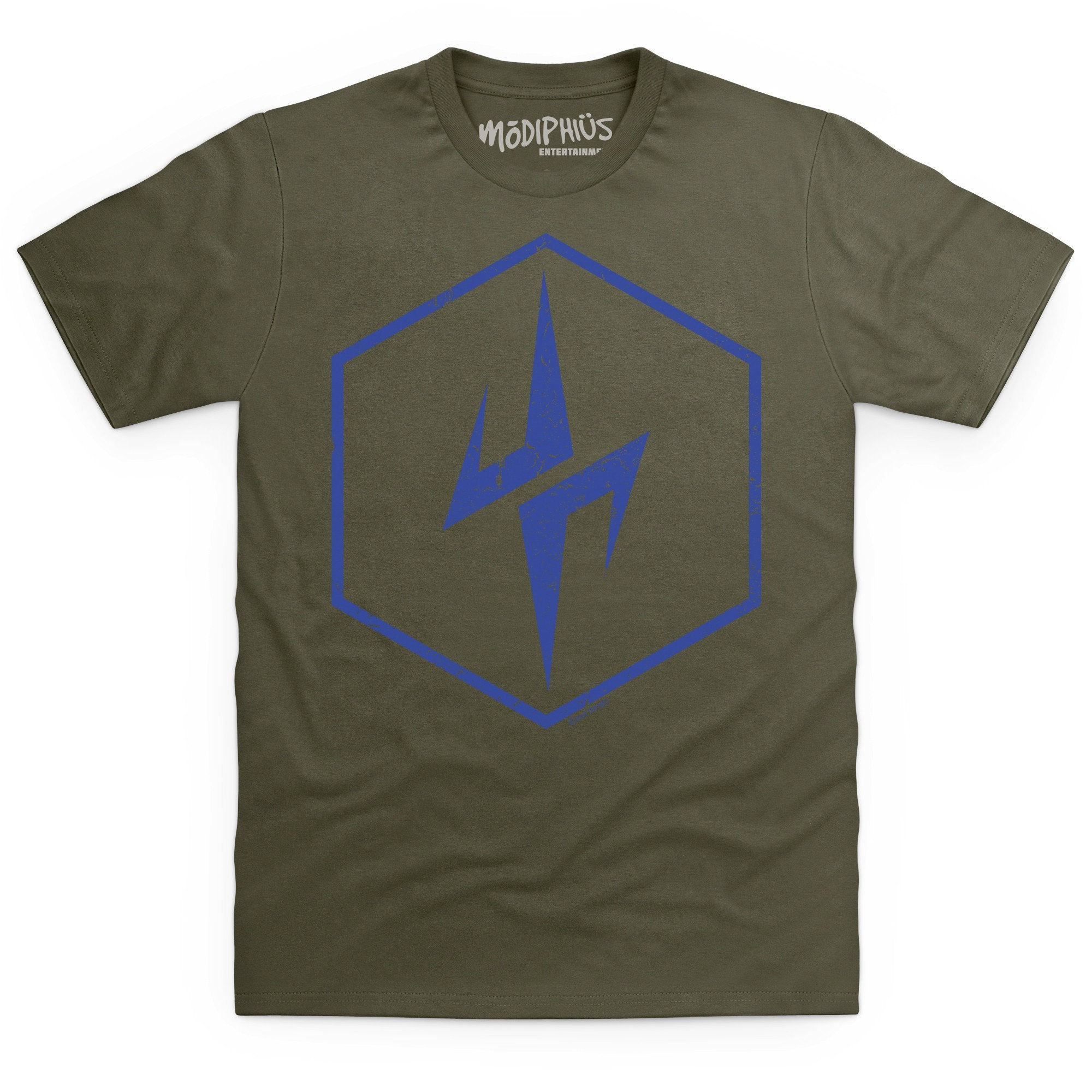 Mutant Chronicles: Cartel distressed t-shirt