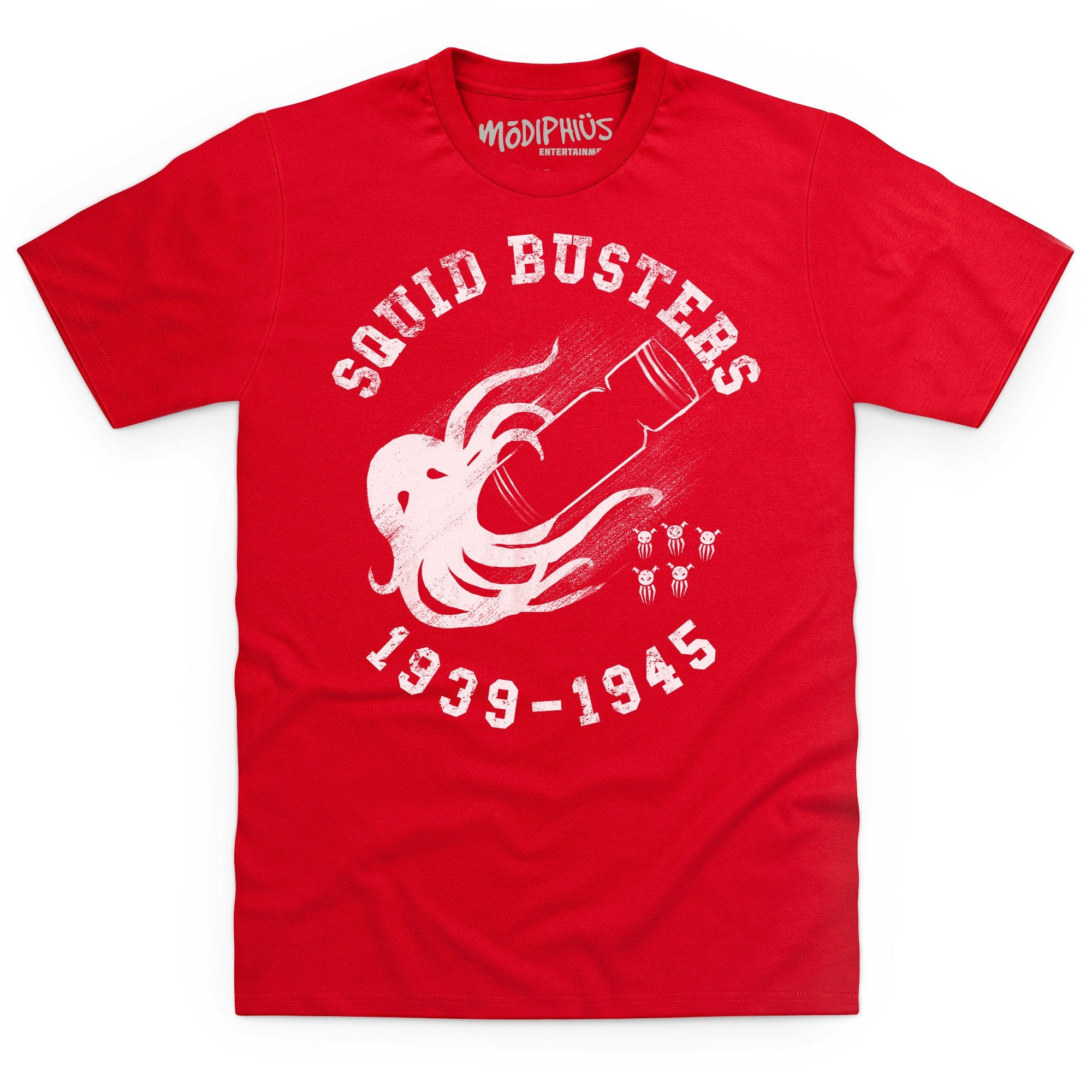 Achtung! Cthulhu: Squid Buster t-shirt