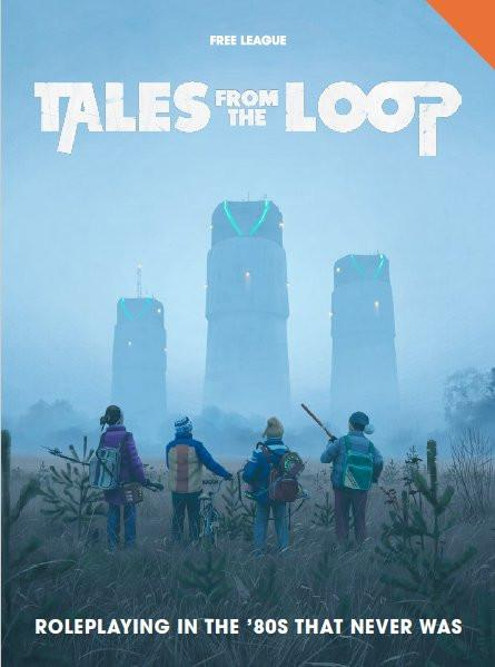 Tales from the Loop RPG: Rulebook - Modiphius Entertainment